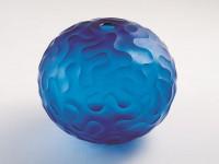 《青い珊瑚》1997年  富山市ガラス美術館所蔵  撮影:末正真礼生
