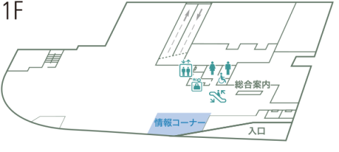 TOYAMAキラリ 1階